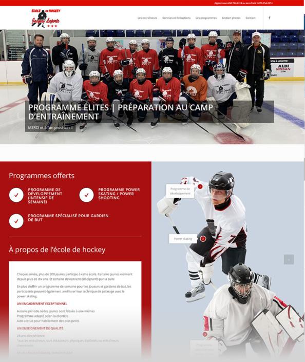 École de hockey Jacques Laporte
